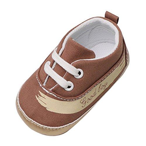 Kobay-baby Canvas Schuhe Casual Brief Krippe Schuhe Weiche Sohle Anti-Rutsch-Schuhe