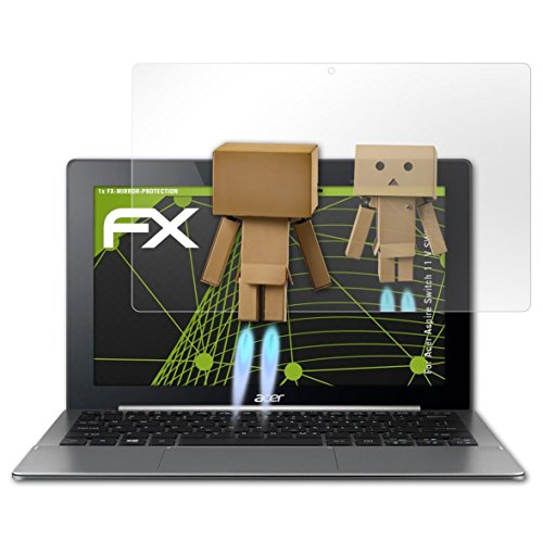 atFolix Bildschirmfolie kompatibel mit Acer Aspire Switch 11 V SW5-173 Spiegelfolie, Spiegeleffekt FX Schutzfolie