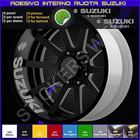 Suzuki Bandit GSX GSXR VSTROM Internal Wheels Stripes Circles Stickers