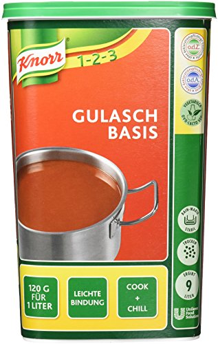 Knorr Gulasch Basis (würzig, leichte Bindung) 1er Pack (1 x 1kg)
