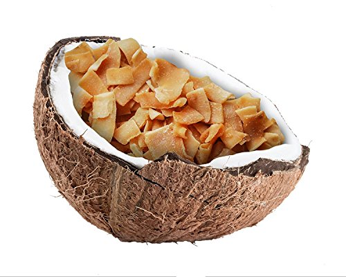 Heimatgut Kokosnusschips Wasabi ( 6 x 40g ) 3-fach gebackene Chips aus Kokosnuss. Veganer und glutenfreier Snack mit echtem lecker scharfem Wasabi. - 4