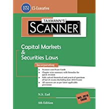 Scanner-Capital Markets & Securities Laws (CS-Executive)-(December 2018 Exam) (5th Edition June 2018)