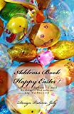 Address Book: Easter / Address / Telephone / E-mail / Birthday / Web address / Log in / Password