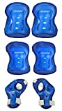 #7: Cockatoo PE-02-3 in 1 Multiple-Sports Protective Gears Kit For Age-7' to 14'