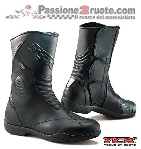 Stivali moto Tcx X-Five Evo Gore-tex nero 42 boots
