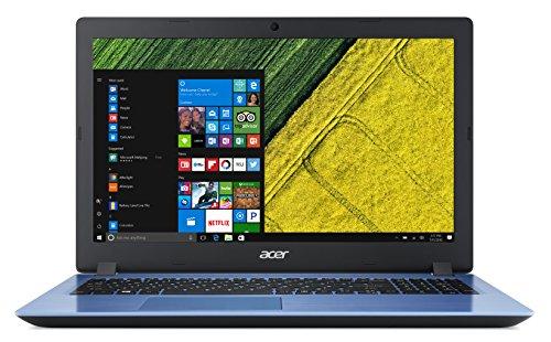 """Acer Aspire 3 A315-31-C5CM Notebook con Processore Intel Celeron N3350, RAM da 4 GB DDR3, 1000 GB HDD, Display da 15.6"""" HD LED LCD, Scheda grafica Intel HD 500, Windows 10 Home, Blu"""