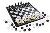 Azerus Standard Line: Klassisches 3-In-1-Spielset - Schach