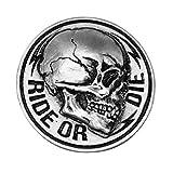 Spilla Spilla testa di morte Skull Ride Or Die