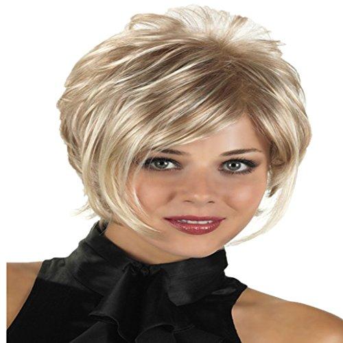 Gelockt Locken weiblich Haar Perücken Tägliche Haar Elegante Natur... (Günstige Afro Perücken Für Verkauf)