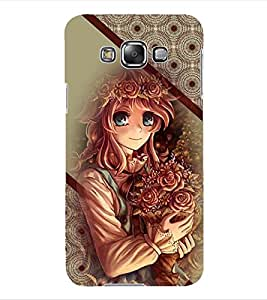 ColourCraft Beautiful Girl Back Case Cover for SAMSUNG GALAXY GRAND 3