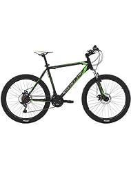 VTT semi-rigide 26'' Sharp noir-vert TC 51 cm KS Cycling