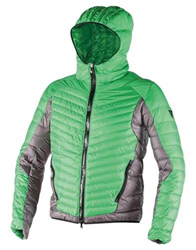 Dainese Cale Down Jacket, Piumino Uomo da Sci (EDEN-GREEN/STEEL-GRAY/BLACK, L)