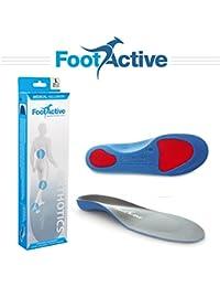 FootActive Medical Longitud Plantillas Ortopédicas