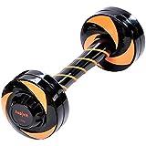 top | vit® Swinging Dumbbell, neuartige Hantel mit Mehrfachfunktion zur Stimulierung tieferliegenden Muskelgruppen durch Rotation, 1,5 kg, orange