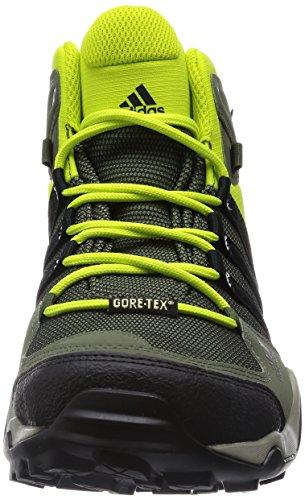 adidas Originals AX2 MID GTX, Scarponi da trekking ed escursionismo uomo Viola (Violett (Collegiate Navy/Core Black/Solar Red))