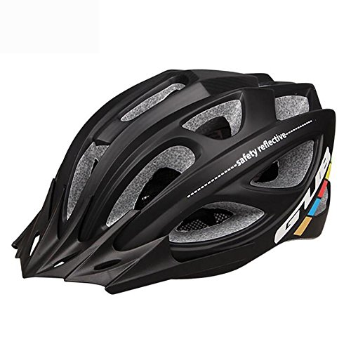 MIAO Fahrradhelm - Integral PC Shell 18 Vents Mountainbike / Rennrad Fahrradhelme , black