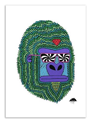 Art-Poster – Herbert the Hypno ape – Mulga