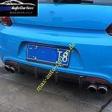 Echt Carbon Heck Diffusor Heckansatz Rear Bumper passend für Scirocco R Facelift auch