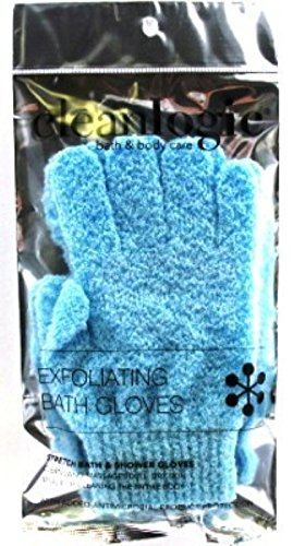 Clean Logic Stretch Bath & Shower Gloves (Pack of 3)