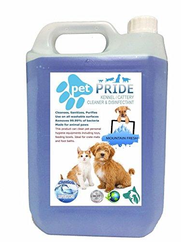 Botella Aerosol Collection Here 5l Fresco Mascota Jaula Desinfectante Fresh Linen Shrink-Proof