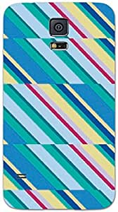 Timpax protective Armor Hard Bumper Back Case Cover. Multicolor printed on 3 Dimensional case with latest & finest graphic design art. Compatible with only Samsung Galaxy S-5. Design No :TDZ-21431