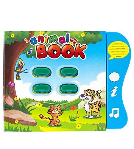Libro de Sonidos Boxiki Kids para el Aprendizaje de los...