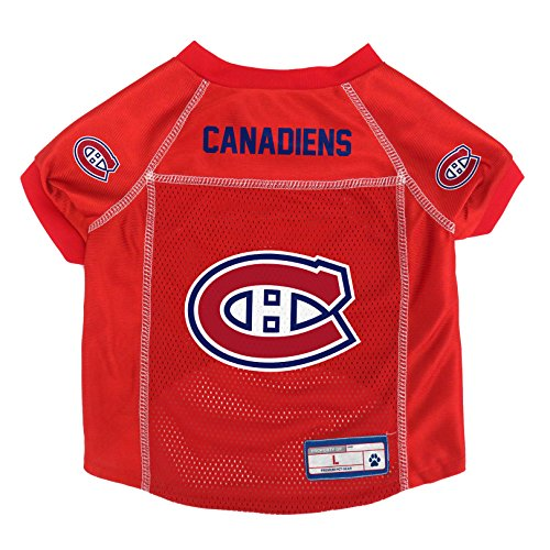 Littlearth NHL Montreal Canadiens Pet Jersey, XL