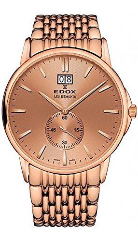 Edox Les Bémonts Men's watches 6401237RMROIR