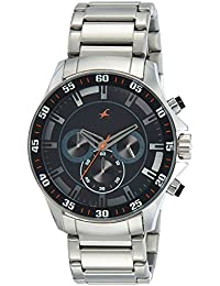 Fastrack Analog Black Dial Men's Watch - 3072SM04