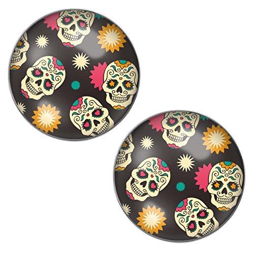 LilMents Azúcar Mexicano de calaveras Calaveras, color negro...