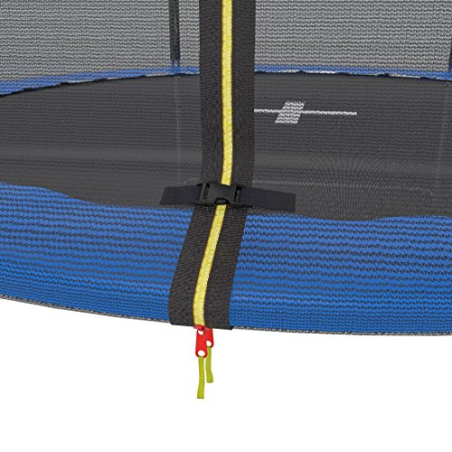 Ultrasport Gartentrampolin Jumper 180 cm inkl. Sicherheitsnetz verschluss