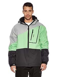 Trespass Men's Aro Ski Jacket grey green Size:Large