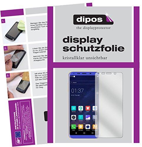 dipos I 2X Schutzfolie klar passend für BLUBOO S8 Folie Bildschirmschutzfolie