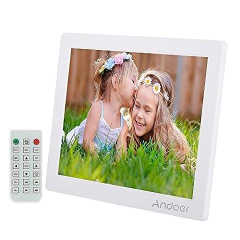 Andoer digital photo frame 12 Bilderrahmen 800 * 600 MP4