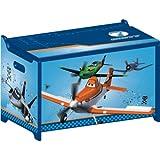 Disney Planes Toy Box Avión juguete caja de madera baúl para juguetes Caja Nuevo