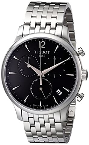 Tissot Herren-Armbanduhr Tradition T0636171106700