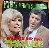 Vivi Bach/Dietmar Schönherr: Wünsch Dir was/Es wird ja immer wieder Frühling, Cornet 3154
