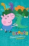 Walltastic Peppa Pig Poster-sticker-print Décoration murale papier peint mural Décor pour enfants + Chambre d'enfant/salle de jeux/chambre d'enfant