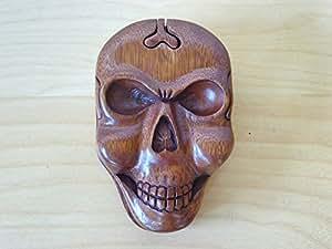 Magic Puzzle en bois-Boîte cadeau SKULL.....