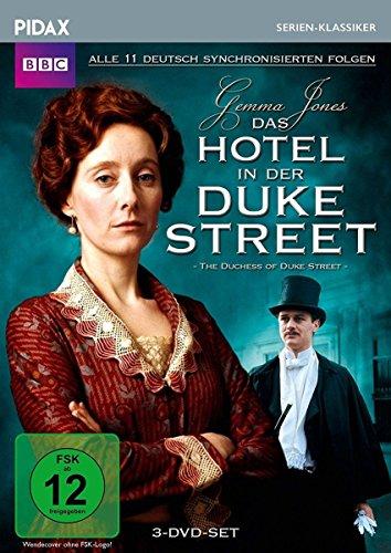 Bild von Das Hotel in der Duke Street (The Duchess of Duke Street) / Alle 11 deutsch synchronisierten Folgen der Kultserie (Pidax Serien-Klassiker) [3 DVDs]