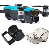 Kuuqa 2 pezzi Lens Hood Auricolare e fotocamera Copriobiettivo Copriobiettivo Copertura schermo del sensore frontale 3D per Dji Spark (Dji Spark non include)