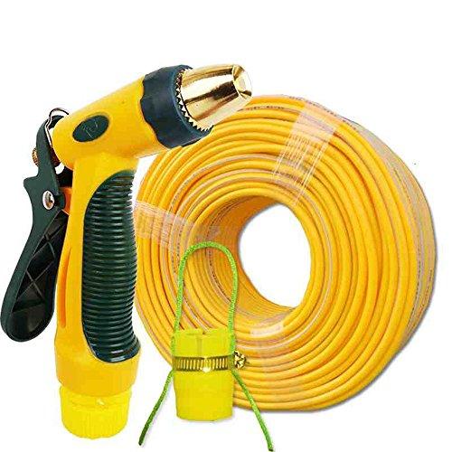 Télescopique Accueil pompes à eau de lavage à eau de haute pression Arrosage de lavage de voiture tuyau de tuyau d'eau rouge ensemble 40 m d'étanchéité pistolet d'eau raccords de tuyauterie d'eau (40m