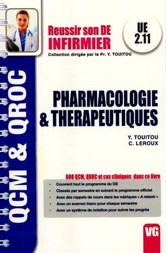 Pharmacologie & thrapeutiques UE 2.11 : QCM & QROC