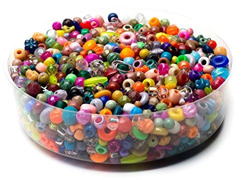 Cousin Kunststoff Fun Pack Perlen 16oz-assorted Formen und Größen
