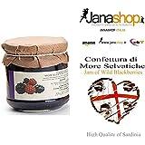 MORE SELVATICHE CONFETTURA, Confettura di More Selvatiche, 220 gr. Prodotti Sardi