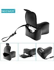 Neewer® Ultra Léger en Néoprène Elastique Sac de Caméra avec Mousqueton pour La Plupart Standard DSLR Camera avec un Objectif 16-50mm (Noir)