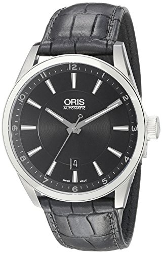 73376424034LS da uomo Oris Artix analogico display svizzero orologio automatico nero
