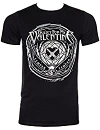 Pour homme bullet t-shirt my valentine-bande explode time to