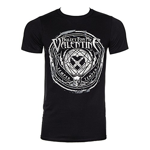 Bullet for my Valentine uomo Band T-Shirt - Time To esplodere nero Small