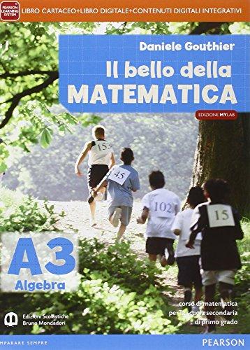 Bello della matematica. Ediz. mylab tematica. Per la Scuola media. Con e-book. Con espansione online: 3